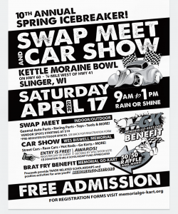 Swap Meet Car Show Flyer